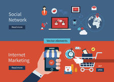 Picture of internet marketing and social networking