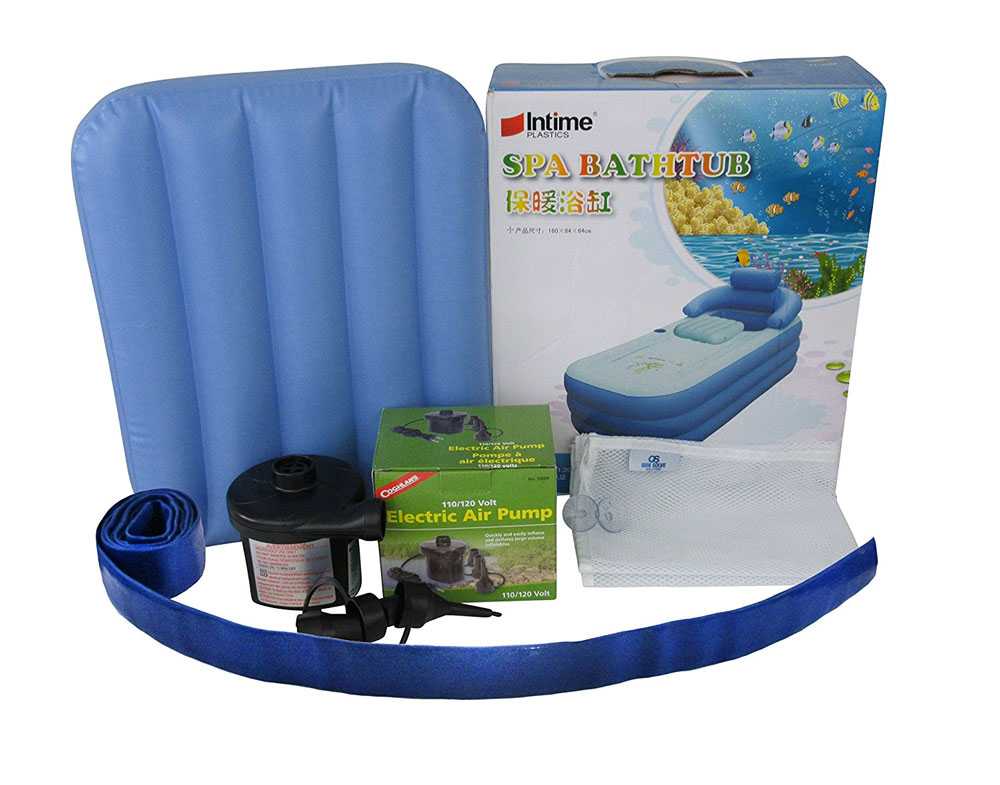Inflatable Floating Bathtub