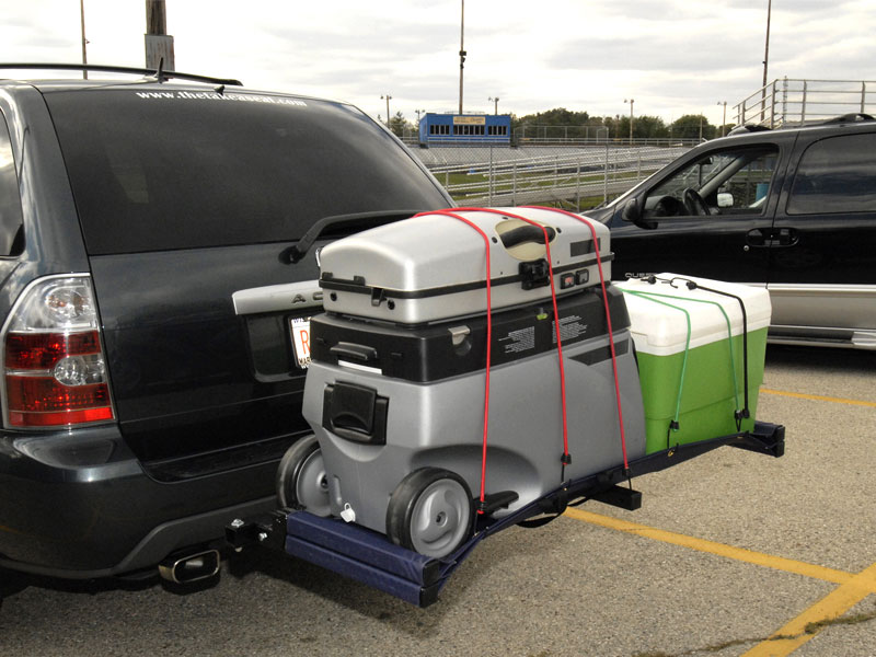 Take A Seat Hitch Bench Amp Carrier Dudeiwantthat Com