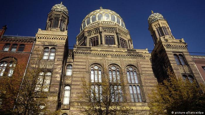 Berlin's Neue Synagoge on Oranienburger Strasse
