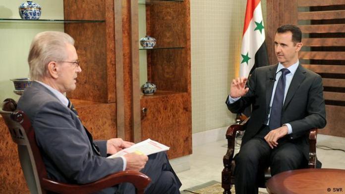 Jürgen Todenhoff's meeting with Syrian President Bashar al-Assad in 2012