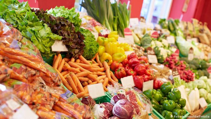 Symbolbild Bioladen Obst Gemüse