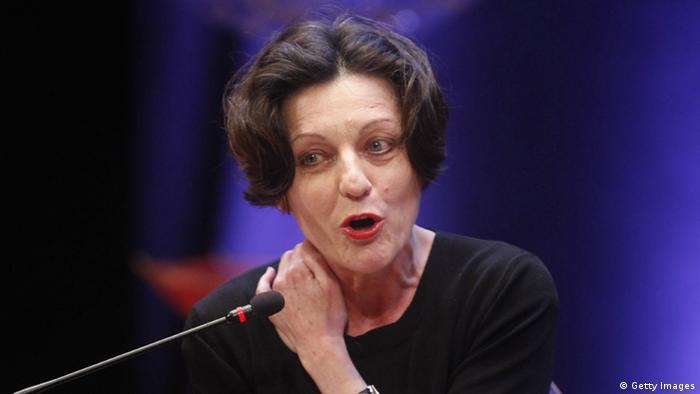 Herta Müller. (Photo: STR/AFP/Getty Images)