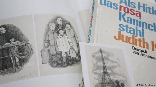 A drawing from Judith Kerr's book When Hitler Stole Pink Rabbit (DW/K.Schlusen)