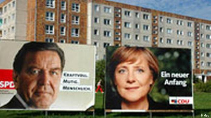 Election advertising in Mecklenburg-Western Pomerania picture gallery Wahl05