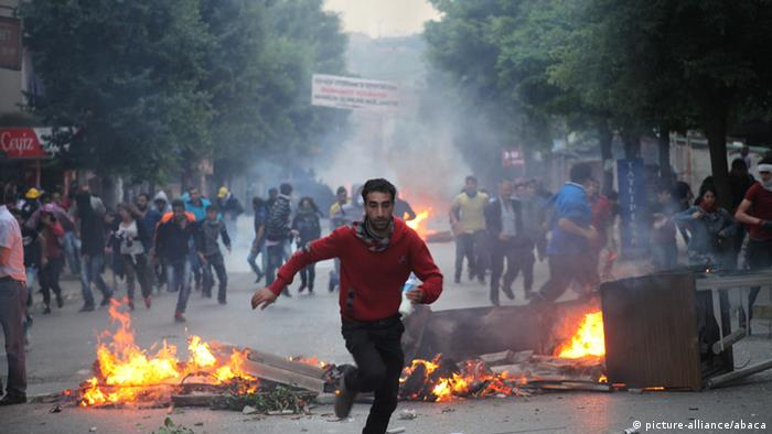 Gezi Park and Taksim Square protests (picture-alliance/abaca)