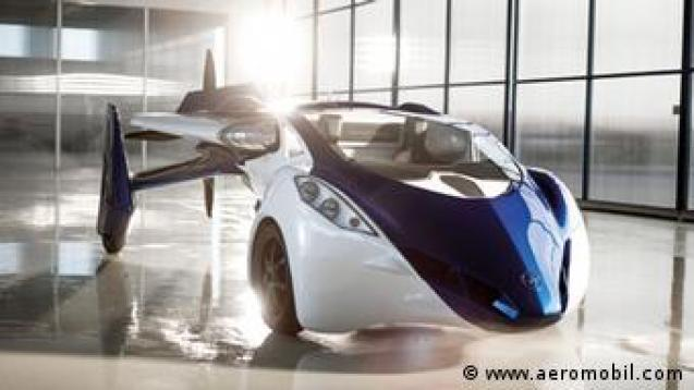 To υβριδικό ιπτάμενο όχημα της AeroMobil από τη Σλοβακία