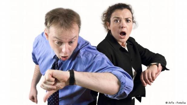 Zeitdruck Stress Symbolbild