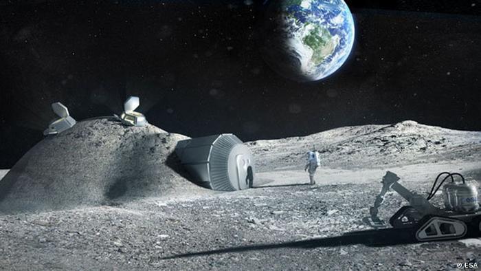 NASA Moon Village (ESA)