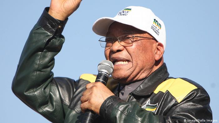 Former South African Präsident Jacob Zuma (Imago/Gallo Images)