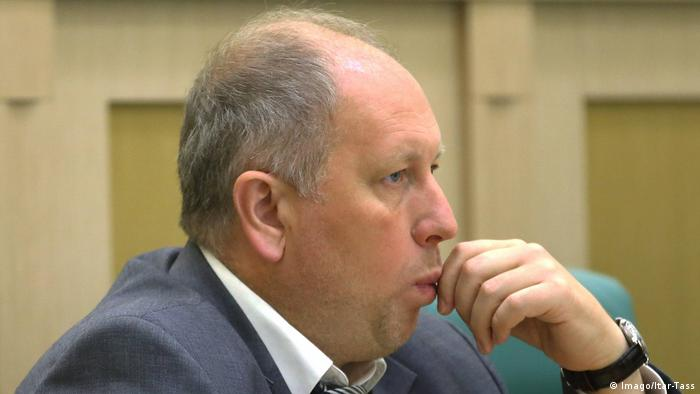 Russian politician Sergej Rybakow