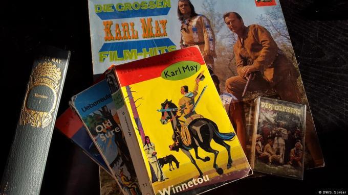 Duitsland Winnetou-boeken en hoorspelen