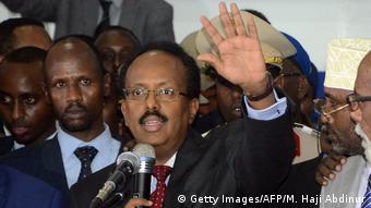 Somalia Mohamed Abdullahi Farmajo