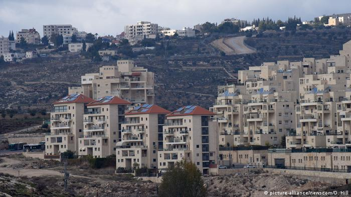 Symbolic image of Israel settlements in the West Bank (picture-alliance / newscom / D. Hill)