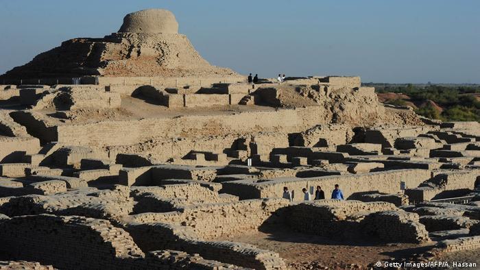 Mohenjo-Daro. Ciudad de la antigua cultura del valle del Indo.