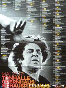 Αφίσα από τη συναυλία το 2017 στο Ντίσελντορφ
