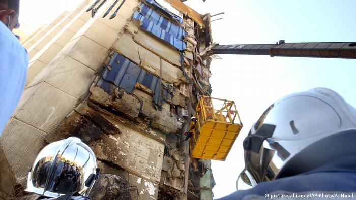 Egypt, terror attack in Hilton Taba Hotel, Sinai (picture-alliance/AP Photo/A. Nabil)
