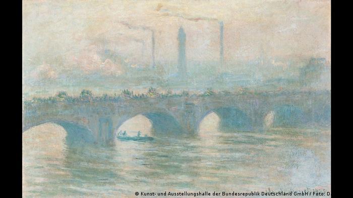 Claude Monet- Waterloo Bridge (Kunst- und Ausstellungshalle der Bundesrepublik Deutschland GmbH / Foto: David Ertl)