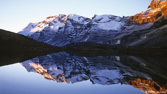 El Parque Nacional Natural de Güicán, El Cocuy y Chita (foto) es territorio sagrado para los indígenas U'wa