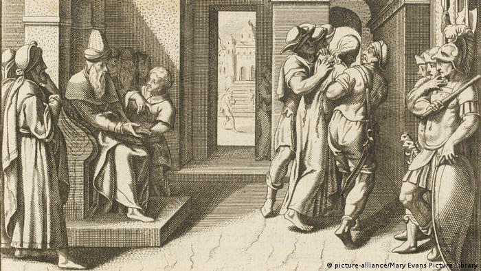 Η πόλη πέρασε στα χέρια των Βαβυλωνίων το 586 π.Χ. οπότε και καταστράφηκε μαζί με τον ναό του Σολομώντα. Στη συνέχεια πέρασε στην κατοχή των Περσών. Μετά την κατάληψη της πόλης από τον Κύρο ΙΙ δίνεται η άδεια στους Εβραίους να επιστρέψουν από την εξορία και να ξαναχτίσουν το ναό.