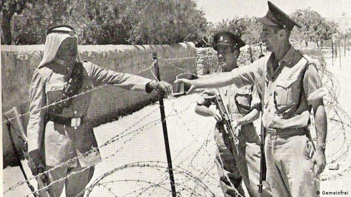 Μετά το Β Παγκόσμιο Πόλεμο οι Βρετανοί αποχωρούν από την Παλαιστίνη. Τα ΗΕ εγκρίνουν τη διαίρεση της πόλης για να δώσουν μια πατρίδα στα θύματα του Ολοκαυτώματος. Μερικά αραβικά κράτη στρέφονται κατά του Ισραήλ και κατακτούν ένα μέρος της Ιερουσαλήμ. Μέχρι το 1967 η δυτική Ιερουσαλήμ βρίσκεται υπό ισραηλινή κατοχή και η ανατολική υπό την κατοχή της Ιορδανίας