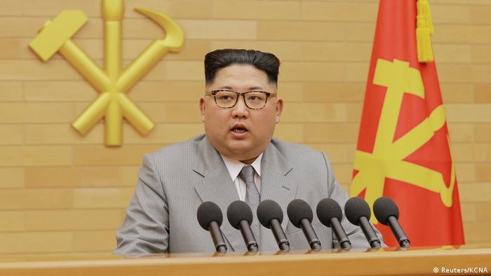 Kim Jong Un (Reuters/KCNA)