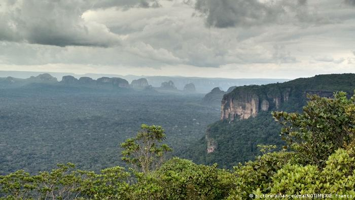 Chiribiquete National park in Colombia