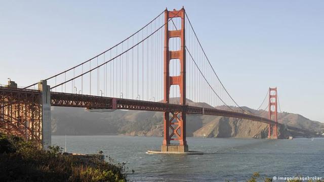 Golden Gate Bridge San Francisco (Imago/imagebroker)