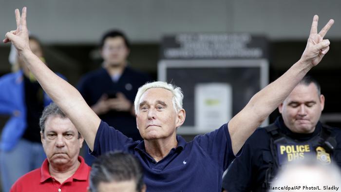 Roger Stone (picture-alliance/dpa/AP Photo/L. Sladky)