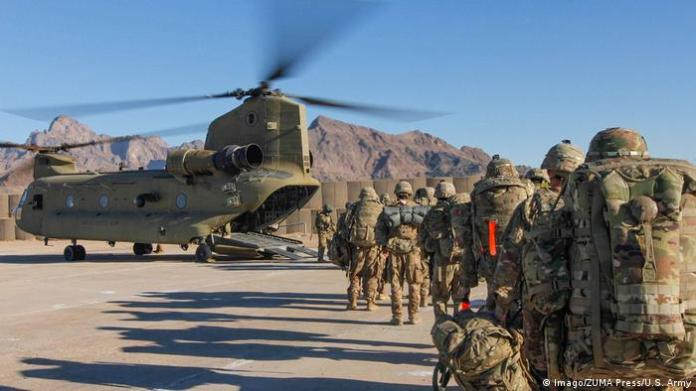 US soldiers on an anti-Taliban operation in Afghanistan