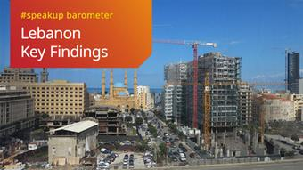 DWA DW Akademie Speakup Barometer Libanon Wichtigste Ergebnisse