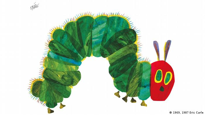 Cover of Eric Carle's The Very Hungry Caterpillar (1969, 1987 Eric Carle)