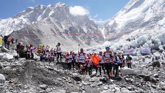 Everest Marathon, the highest in the world.