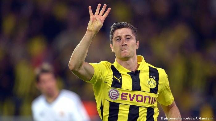BG Fußball Champions League BVB Robert Lewandowski