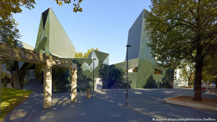 Neue Synagoge in Mainz, Germany (picture-alliance/akg/Bildarchiv Steffens)