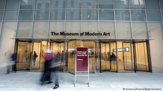 MoMA entrance in New York (picture-alliance/dpa/A.Gombert )