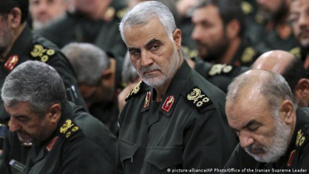 Irak Qassem Soleimani (picture-alliance/AP Photo/Office of the Iranian Supreme Leader)