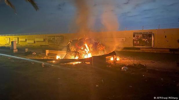 Irak Bagdad Airport Luftschlag US-Streitkräfte auf General Qassem Soleimani (AFP/Iraqi Military)