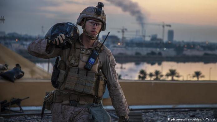 EE.UU. anuncia reorganización de tropas, pero no retirada de Irak | El  Mundo | DW | 06.01.2020