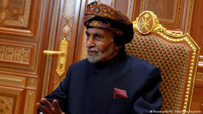 Oman Muscat |  Death of Sultan Kabus bin Said (Reuters / AFP / A. Caballero-Reynolds)