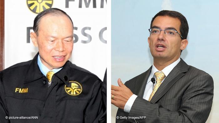 Lim Wee Chai und Stephane Bancel