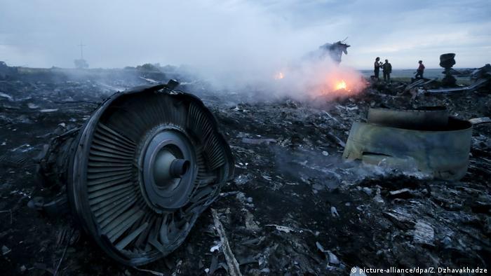 На місці падіння Боїнга на Донбасі, 17 липня 2014 року