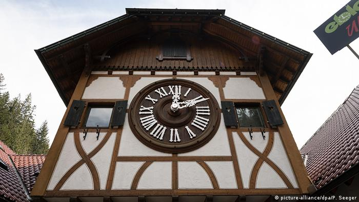 The world's largest cuckoo clock in Triberg, Black Forest