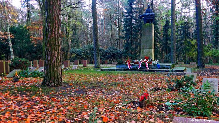 Советское воинское кладбище в Котбусе