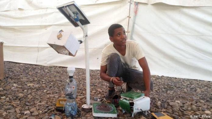 Ethiopia Addis Ababa   Coronavirus   Ezedin, inventor (DW / T. Filate)