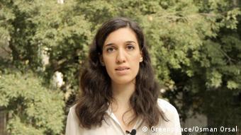 Greenpeace Akdeniz Biyoçeşitlilik Projeler Sorumlusu Nihan Temiz Ataş