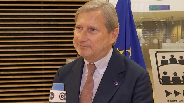 EU Budget Commissioner Johannes Hahn