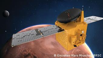 Emirates Mars Mission - Illustration