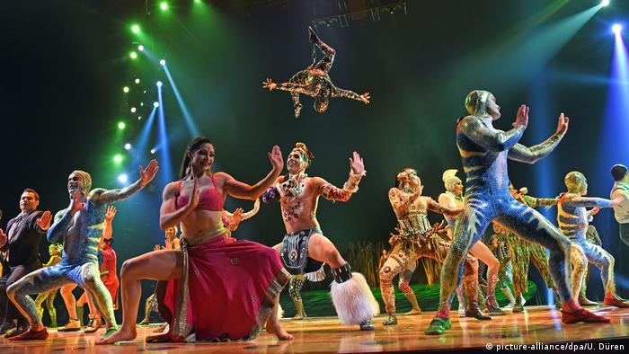 Легендарный Cirque du Soleil