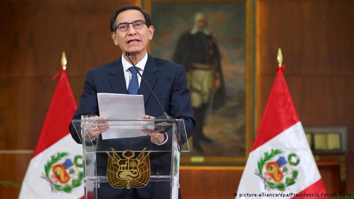 Martín Vizcarra, expresidente de Perú